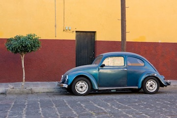 Volkswagen bug in Mexico