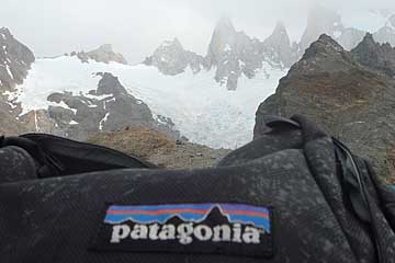 Patagonia label in Patagonia