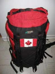 About That Canadian Flag on my Backpack - Travel Blog - World Hum