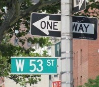 New York Dubs West 53rd St. 'U2 Way'