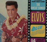 elvis blue hawaii aloha shirt