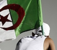 Photo You Must See: Waving the Algerian Flag