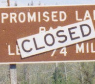 Promised Land Closed
