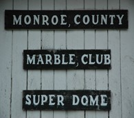 monroe county marble super dome