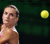 Iveta Benesova at the Sony Ericsson Open