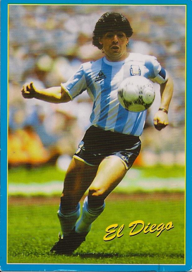 В июне 1982 команду усилил аргентинец диего марадона