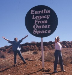 How+big+is+meteor+crater+in+arizona