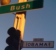 obama bush street san francisco