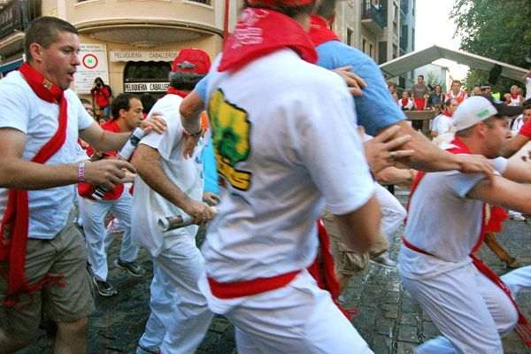 Pamplona Runnng of the Bulls