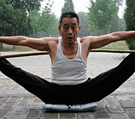 Photo We Love: Serious Stretching in Beijing