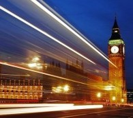 Photo You Must See: London Light Trails