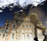 Photo You Must See: One Amazing Puddle in St. Petersburg