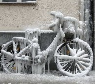Photo You Must See: Ice Bike in Berlin