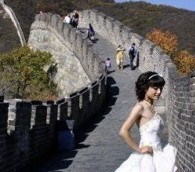 Photo You Must See: Wedding on the Great Wall