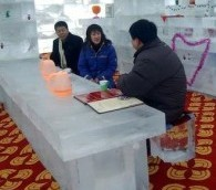 Photo You Must See: Ice Restaurant in China