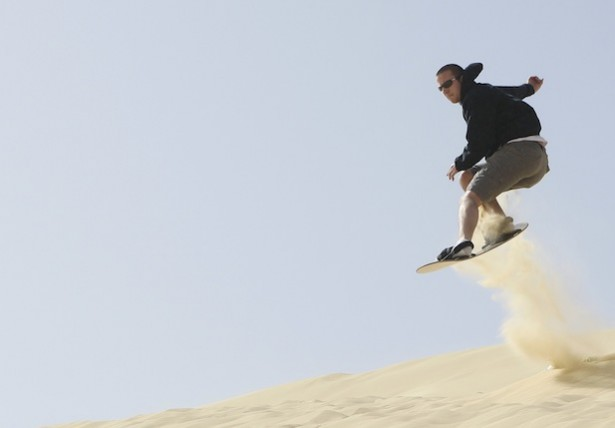 Photo You Must See: Sandboarding in Egypt