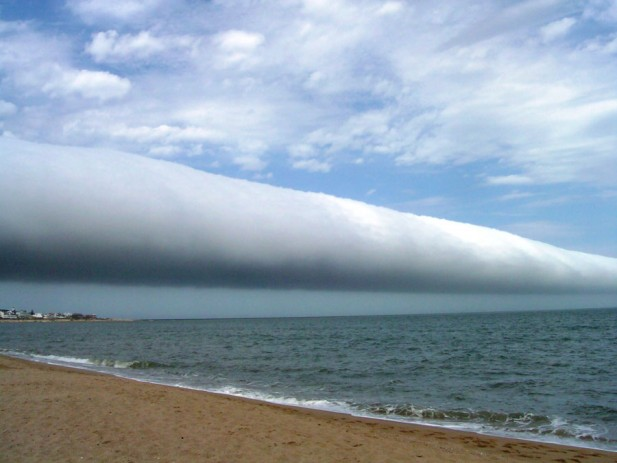 roll cloud uruguay astronomy