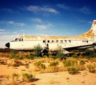 Desert Solitaire: Inside an 'Airplane Graveyard'