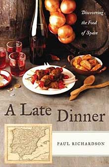 a late dinner book cover