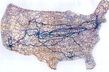 United States road map